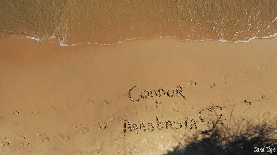 Connor + Anastasia ❤️