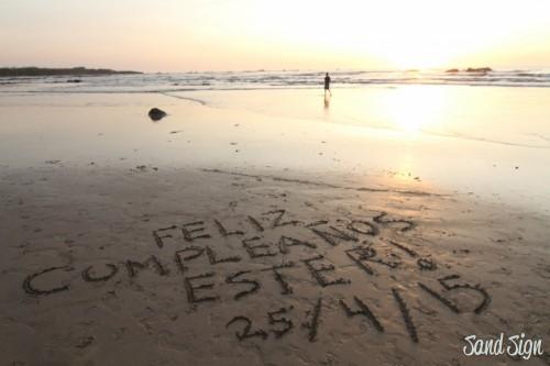 FELIZ CUMPLEAÑOS ESTER!25/4/15