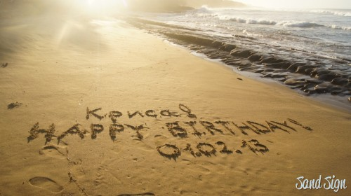 Криса! HAPPY BIRTHDAY!01.02.13
