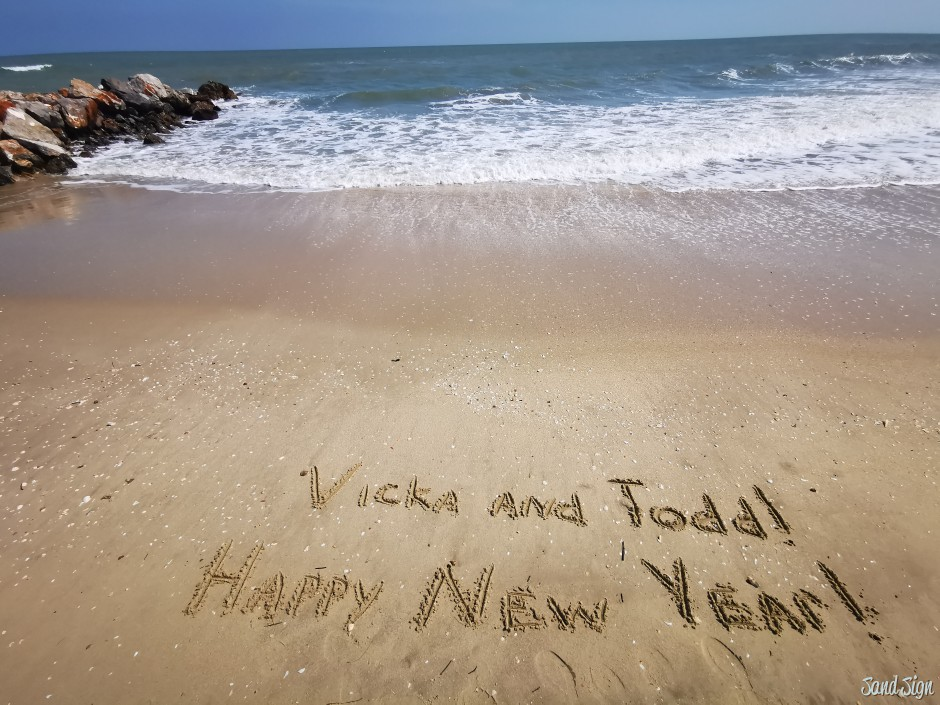 Vicka and Todd! Happy New Year!