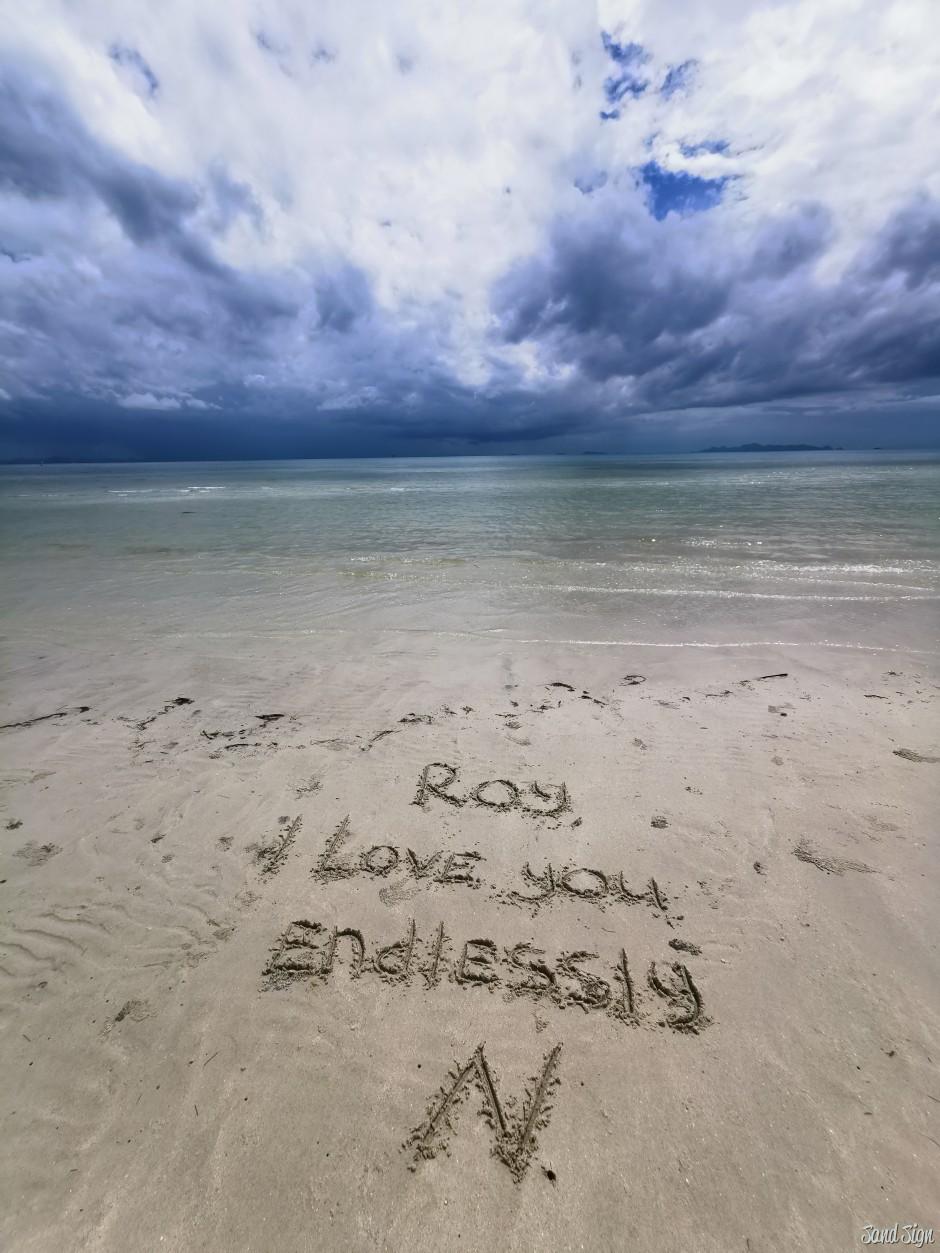 Roy, I love you endlessly N.