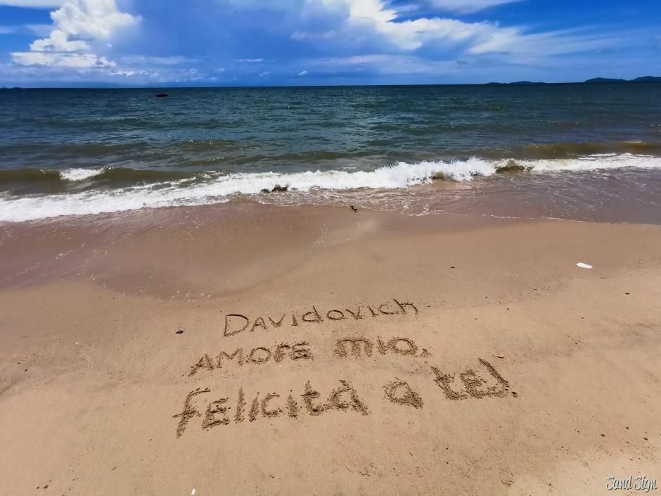 Davidovich amore mio, felicità a te!