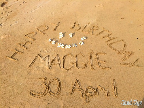 Happy Birthday Maggie! 30April