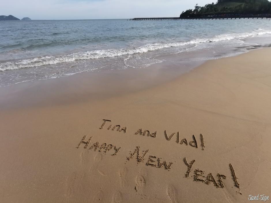 Tina and Vlad! Happy New Year!